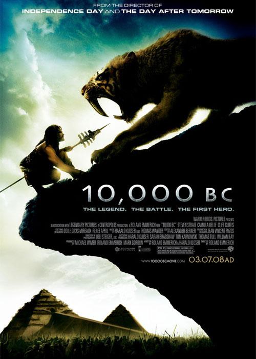 10000 B.C