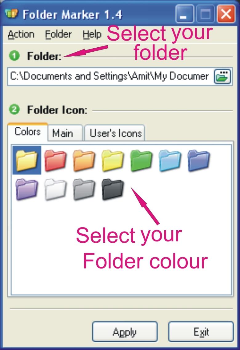 select folder2